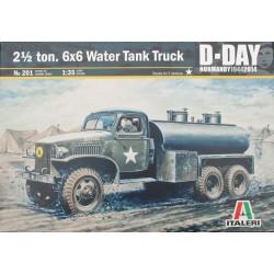 2,5 TON 6X6 WATER TANK TRUCK 1/35