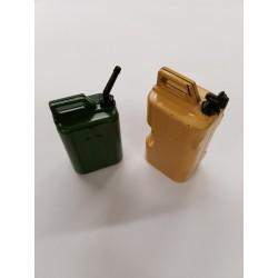 Jerry Can Gas Fuel Tank & Water Can for 1/10 Scale Rock Crawler