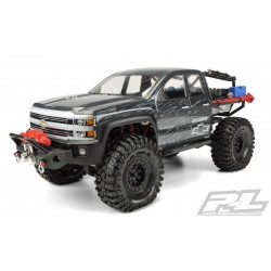 Clear Silverado body (Axial SCX10) 313mm wheelbase