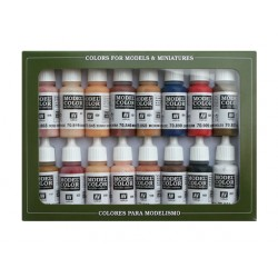 Model color set face/skin nr2 16x17ml.