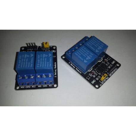 Arduino dubbel schakelrelais 5V