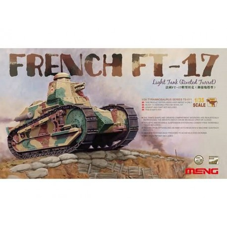 FRENCH FT-17 1/35