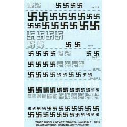 German Swastika's 1/48 night fighter decals