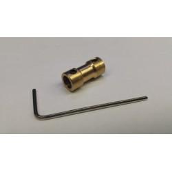 starre askoppeling 6-4mm L- 20mm D-9mm