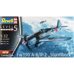 FW190 A-8/R-2 1/32 L-32.7cm
