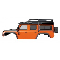 Traxxas TRX8011A Land Rover Defender Body PAINTED in Adventure Oranje
