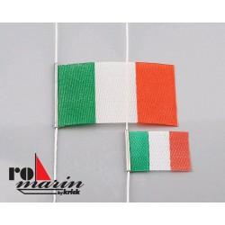 Italiaanse vlaggen 25x40mm + 15x25mm