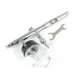 Airbrush pistool met onderbeker  0,5 mm nozzle