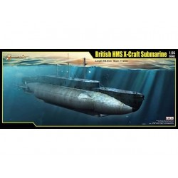 BRITISH HMS X-CRAFT SUB 1/35