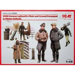WWII GERMAN PILOTS AND GROUND PERS. WINTER 1/48