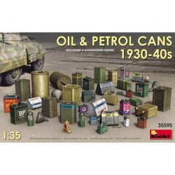 OIL, PETROL CANS 190-40 1/35