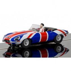Slotrace auto Jaguar E-Type 1/32