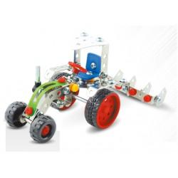 tractor met ploeg
