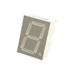 7 segment display rood C.A. 10mm