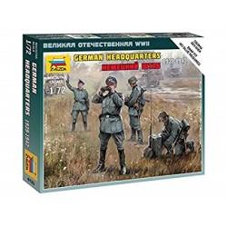 GERMAN HEADQUARTERS 1939-42 1/72 (SNAP KIT)