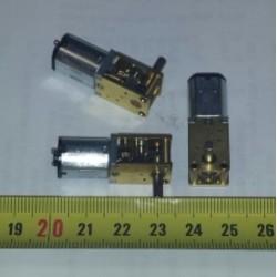 Vertragingsmotor 6-12V 60-120tpm haaks