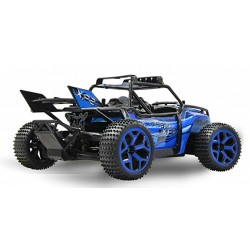 1/18 4WD R/C woestijnracer 2.4Ghz blauw