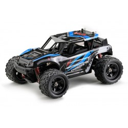 RTRe 1/18 Brushed RC buggy 4WD 2,4 GHz blauw