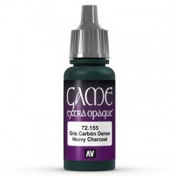 Game color heavy charcoal 17ml.