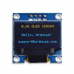 Arduino .96 inch blauw OLED display ser. best.