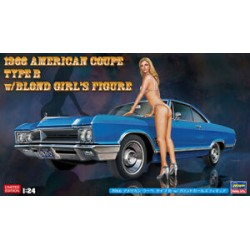 1966 AMERICAN COUPE w/BLONDIE 1/24
