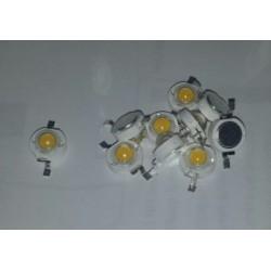 1W LED 3Volt 300mA 3200K