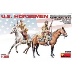 US HORSEMEN NORMANDY 1944 1/35