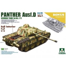 GERMAN PANTHER AUSF.D 1/35