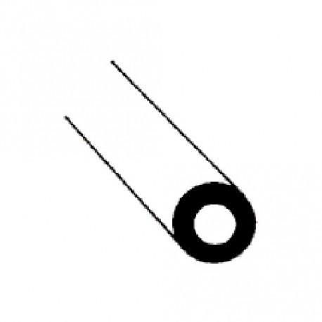 dikwandig witte buis 2,4mm L-30CM