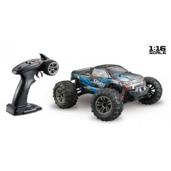 RTRe 1/16 Brushed RC Monstertruck 4WD 2.4Ghz zw/bl