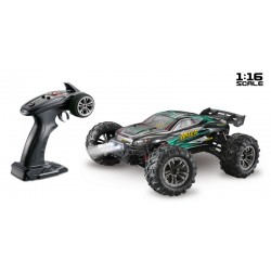 RTRe 1/16 Brushed RC Truggy 4WD 2.4Ghz zw/gr