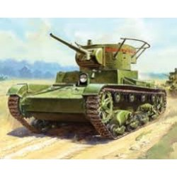 SOVIET LIGHT TANK T-26 MOD. 1933 1/100