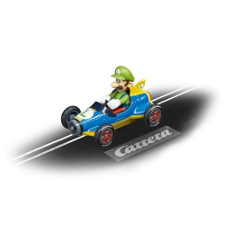 Carrera GO slot car MARIO KART MACH 8 LUIGI 1/43