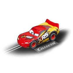 Carrera GO slot car LIGHTNING MCQUEEN MUD 1/43