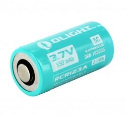 Li-ion 16350 850mA  36x20mm