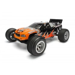 1/10 truggy body firestorm, painted orange/bl