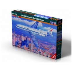 SE-210 CARAVELLE UNITED AIRLINES 1/144 L-22CM
