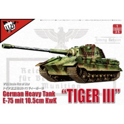 GERMAN HEAVY TANK E-75 TIGER III 1/35