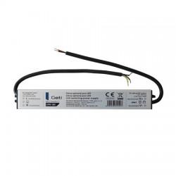 12V 30W IP67 LED slimline voeding