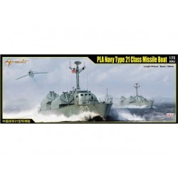 PLA NAVY TYPE 21 CLASS MISSILE BOAT 1/72