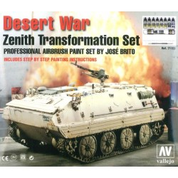 Model Air Desert War Zenith Transform. Set