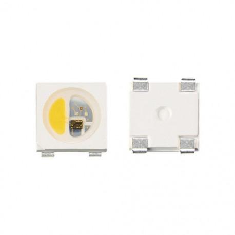 adressable RGBWW 5050 smd LED 10st