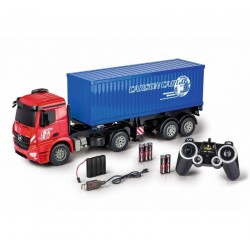 RTRe 1/20 R/C MB ACTROS MET CONTAINER 2.4GHZ