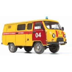 EMERGENCY GAS SERVICE UAZ 3909 1/43