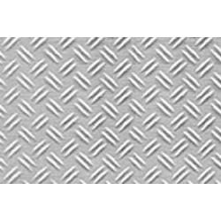 Kunstof traanplaat dubbel 1/16 19x30,5cm 0,5 dik 2st.