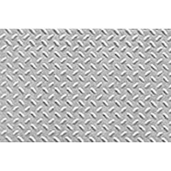 Kunstof traanplaat 1/16 19x30,5cm 0,5 dik 2st.