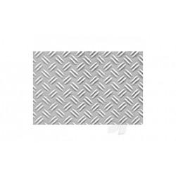 Kunstof traanplaat dubbel 1/48 19x30,5cm 0,5 dik 2st.