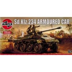 SD.KFZ.234 ARMOURED CAR 1/76 VINTAGE