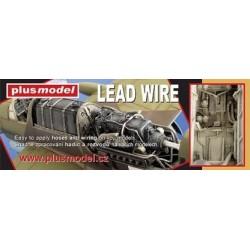Looddraad 0.9mm dik, voor het maken van draad en kabels