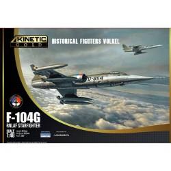 F-104G RNLAF STARFIGHTER NETHERLANDS 1/48